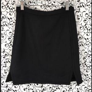 J Crew Double Notched Mini Skirt